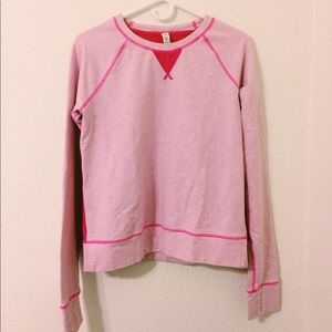 LULULEMON pink sweater